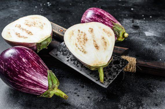 aubergine graffiti et légumes de saison à commander sur l'épicerie fine en ligne en Martinique